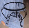 wrought iron craft table /Coffee table /dining room furniture