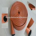 double rubber fire hose