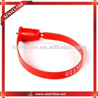 the customized plastic security seal for various packaging