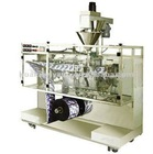 Horizontal Powder and Liquid packing machine