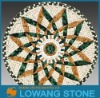 stone pattern mosaic tile round shape