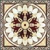 Flower pattern crystal decration polished tile