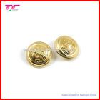 gold embossing garment metal button