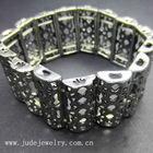 New Tibetan Tibet Silver Bangle Elastic Bracelet