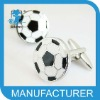 pretty football shaped alloy red costume jewelry royal
