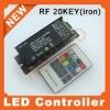 Hi quality12V 144wRF20keyRGB LED Controller