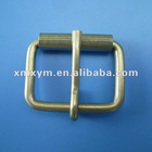 Iron roller buckle for belt, roll pin belt buckle