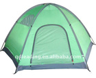 2layer/2 room/Nylon rip stop fly camping tent
