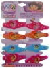 FASHION PLASTIC BARRETTE DORA