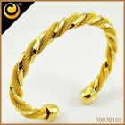 2012 18kgp bangle jewellery dubai gold jewelry catalog price-list