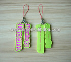 custom logo mobile strap, personlized phone charms