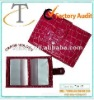 croc pvc wallet shape card holder