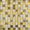 Crystal glass mosaic for build decoration or DIY use
