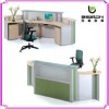 wood reception desk design NA-001