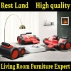 modern leather sofa RD1067