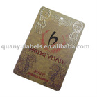 Hot sales hangtag for clothing
