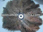 Ostrich feathers dedusting assembly line