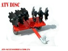ATV Disc Plow