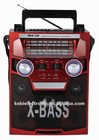 2012 hot sell 4 bands woonden radio with usb/sb player