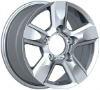 17inch silver alloy wheel