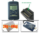 20g - 40Kg Digital Scale Hanging Luggage Fishing Weight Scale