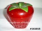 Strawberry Shape Plastic Box