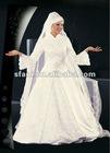 2013 Gorgeous Muslim Wedding Gown