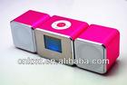 New arrivel fm radio mini digital speaker