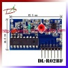 High sensitivity 2Mhz bandwidth RF receiver module