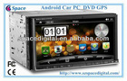 2din Android Car PC with gps ,dvd,dvb-t ,isdb-t funtion