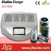 Portable unique rechargeable alkaline battery charger with UL,VDE,UK,SAA,IRAM