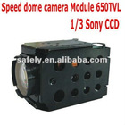 30x zoom camera module 650TVL for speed dome camera