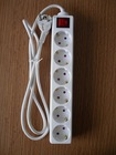 6 way germany type socket outlet with switch
