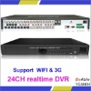 VG-S6024 Real Time 24 channels H.264 Mobile Phone View Stand Alone DVR
