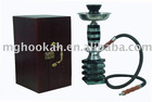 medium size water pipe office shisha with wooden case