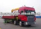 JAC Truck Mounted Crane,Hydraulic Truck Crane,Derrick Cargo Truck
