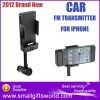 2012 Brand New Stereo Multi-Function Car Audio FM Transmitter MP3 Player For iPhone