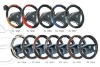 PU PVC STEERING WHEEL COVERS