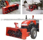 tractor snow blower, front end load/pto snow blower