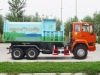 13m3 Swept-Body Dump Garbage Truck