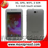 5.3'' touch screen 3G smartphone MT6577