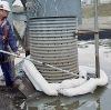oil spill absorbent boom
