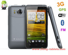 smartphone android 3g gps dual sim Android 4.0 3G Phone 3D Game WIFI GPS big battery QHD original HD LCD 8MP camera