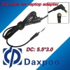 5.5*3.0 laptop power dc cable for Samsung, for Sony adapter