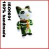 stuffed camouflage handmade sock toy