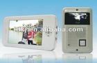 Hot-selling 7 inch color iphone appearance video door phone for villa interm system