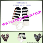 Jacquard Knitted Gloves, Acrylic Gloves ccap-8055