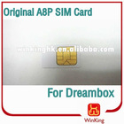 Original A8P SIM card for dreambox