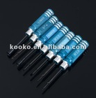 7 pcs Hex Key Spanner screwdriver rc tool kit blue