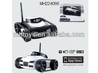 THE APP-CONTROLLED 4 CHANNEL SPY TANK WITH CAMERA